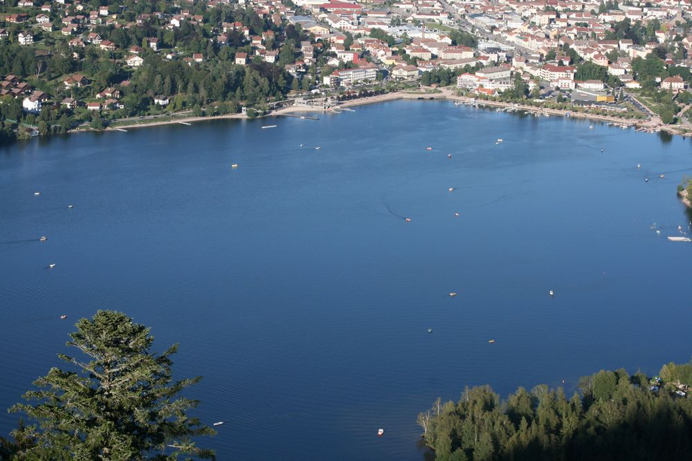 Vacances au lac de Gérardmer