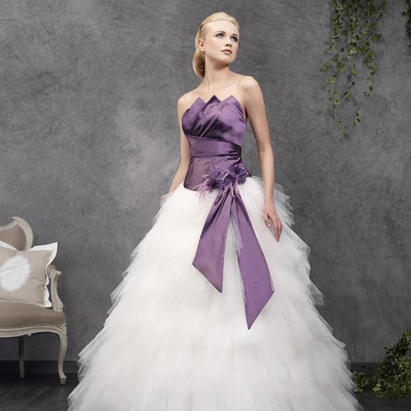 robe de mariage couleur